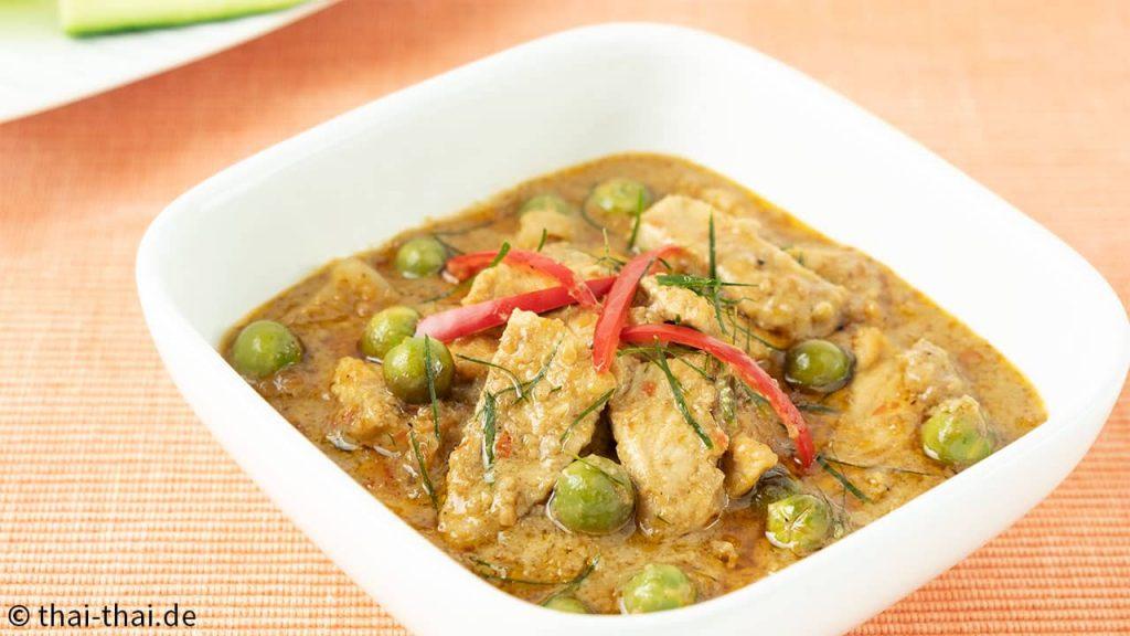 Panaeng Curry mit Schweinefleisch